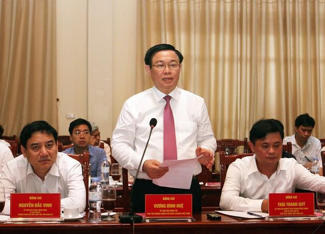 Phó Thủ tướng Vương Đình Huệ:  Đưa Nghi Lộc trở thành vùng trọng điểm phát triển kinh tế của Nghệ An - Ảnh 1.
