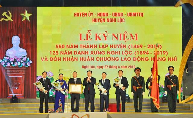 Phó Thủ tướng Vương Đình Huệ:  Đưa Nghi Lộc trở thành vùng trọng điểm phát triển kinh tế của Nghệ An - Ảnh 4.