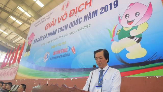 Khai mạc giải vô địch Đá cầu cá nhân toàn quốc năm 2019 tại Đồng Tháp - Ảnh 3.