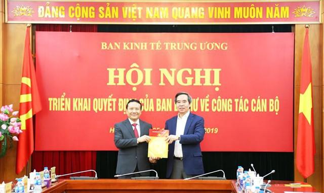 Ban Bí thư bổ nhiệm thêm Phó ban Kinh tế Trung ương - Ảnh 1.