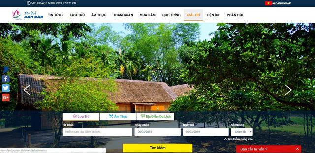 Nghệ An: Triển khai hệ thống Cổng thông tin du lịch thông minh - Ảnh 1.