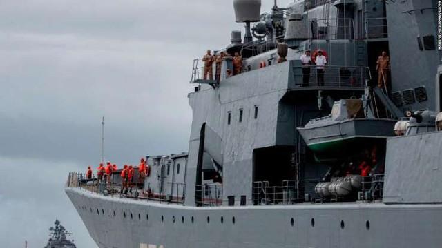 Cận cảnh loạt tàu chiến Nga tại cảng Philippines - Ảnh 3.