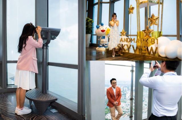 Choáng ngợp màn pháo hoa mãn nhãn từ toà tháp cao nhất Đông Nam Á - Ảnh 9.