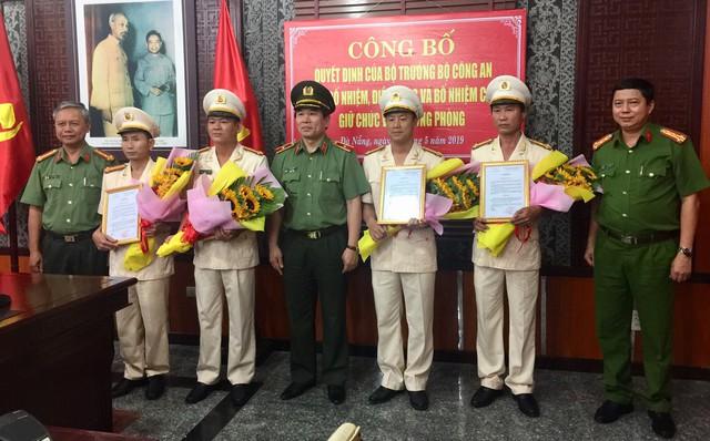 Đà Nẵng: Bổ nhiệm, điều động nhiều lãnh đạo công an cấp phòng, quận  - Ảnh 1.