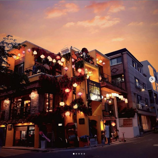 Thân thương hàng Bánh mỳ Phượng Hội An đầu tiên giữa đất Seoul - Ảnh 1.