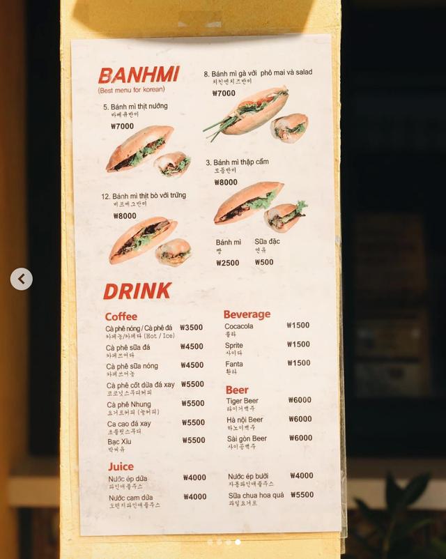 Thân thương hàng Bánh mỳ Phượng Hội An đầu tiên giữa đất Seoul - Ảnh 7.