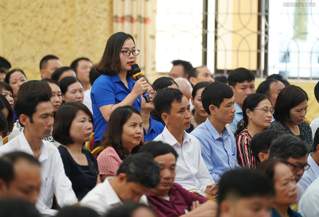 Hình ảnh Thủ tướng Nguyễn Xuân Phúc tiếp xúc cử tri TP. Hải Phòng - Ảnh 7.