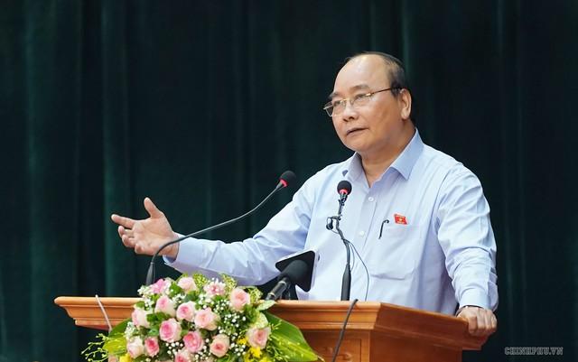 Hình ảnh Thủ tướng Nguyễn Xuân Phúc tiếp xúc cử tri TP. Hải Phòng - Ảnh 5.