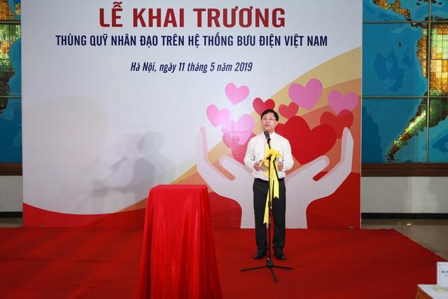 Khai trương Thùng quỹ Nhân đạo trên hệ thống Bưu điện Việt Nam - Ảnh 1.