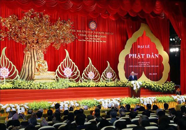 Thủ tướng Nguyễn Xuân Phúc dự Khai mạc Đại lễ Phật đản Liên Hợp Quốc – Vesak 2019 - Ảnh 2.