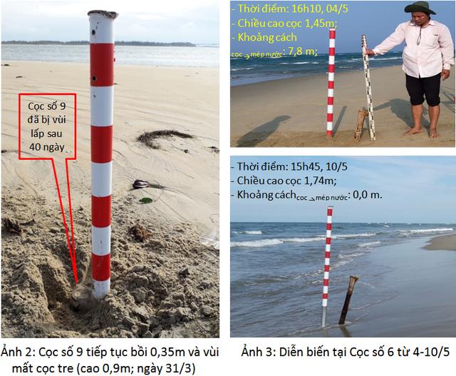 """Thông tin mới về hiện tượng chưa thể lý giải """"đảo cát"""" nổi ở vùng biển Hội An - Ảnh 2."""