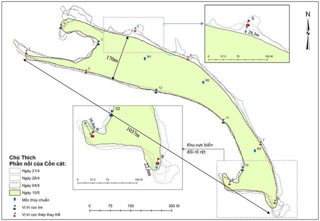 """Thông tin mới về hiện tượng chưa thể lý giải """"đảo cát"""" nổi ở vùng biển Hội An - Ảnh 1."""