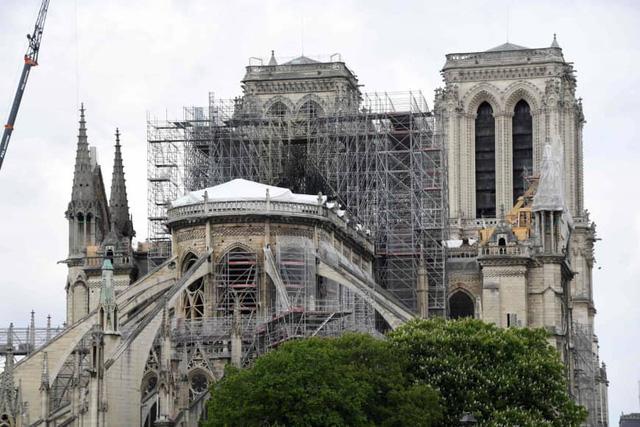 Pháp thông qua dự luật về khôi phục Nhà thờ Đức Bà - Ảnh 1.