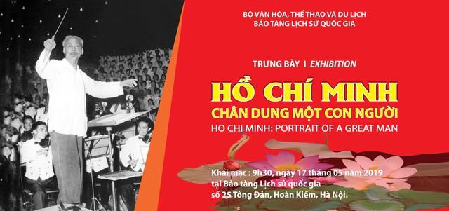 Trưng bày 200 tài liệu, hiện vật chuyên đề Hồ Chí Minh - Chân dung một con người - Ảnh 1.