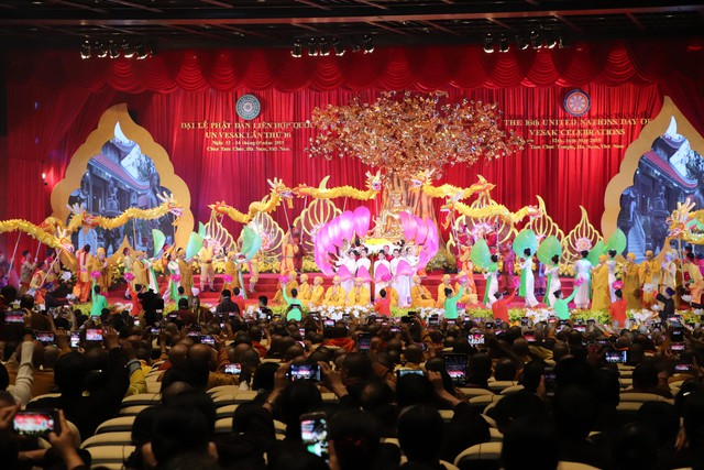 Bế mạc Đại lễ Phật đản Liên hợp quốc Vesak 2019: Đại lễ đã thành công viên mãn - Ảnh 4.