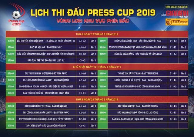 Lễ bốc thăm chia bảng Press Cup 2019 khu vực Hà Nội: Hình ảnh ấn tượng của giải đấu chuyên nghiệp - Ảnh 13.