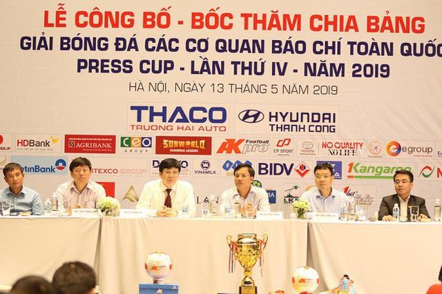 Lễ bốc thăm chia bảng Press Cup 2019 khu vực Hà Nội: Hình ảnh ấn tượng của giải đấu chuyên nghiệp - Ảnh 2.