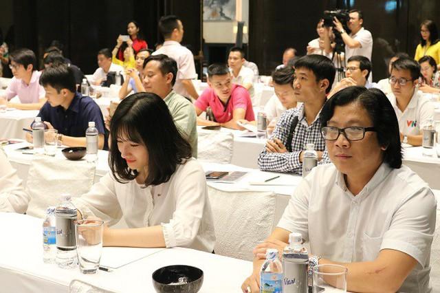Lễ bốc thăm chia bảng Press Cup 2019 khu vực Hà Nội: Hình ảnh ấn tượng của giải đấu chuyên nghiệp - Ảnh 8.