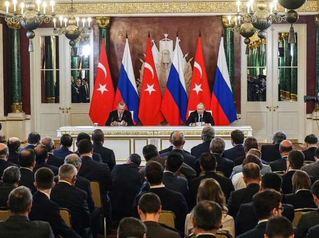 Xói mòn lộ tuyến với Nga: Thổ nóng mặt về Syria - Ảnh 1.
