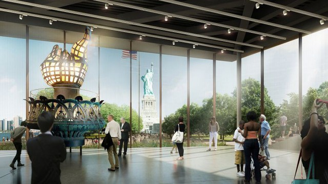 Bảo tàng Nữ thần Tự do - trải nghiệm tuyệt vời để hiểu thêm một phần lịch sử nước Mỹ - Ảnh 1.