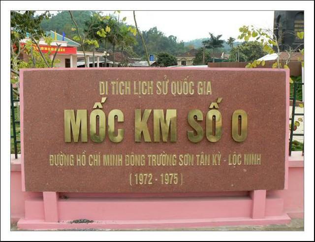 Nghệ An: Công nhận điểm du lịch Di tích Quốc gia đặc biệt Km 0 đường Trường Sơn huyền thoại - Ảnh 1.