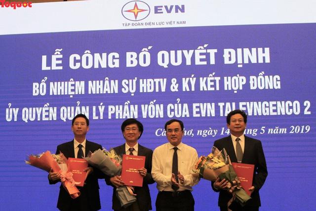Tập đoàn Điện lực Việt Nam công bố các quyết định nhân sự tại EVNGENCO 2 - Ảnh 1.