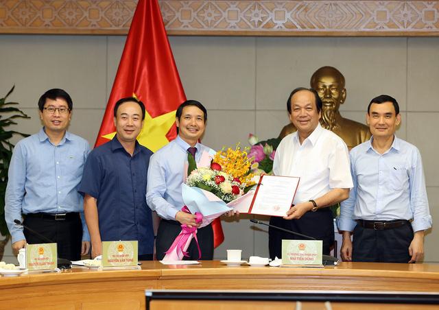 Bổ nhiệm ông Phạm Thái Hà giữ chức Trợ lý của Phó Thủ tướng Chính phủ Vương Đình Huệ - Ảnh 1.
