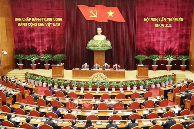 Tổng Bí thư, Chủ tịch nước Nguyễn Phú Trọng khai mạc Hội nghị Trung ương 10 - Ảnh 3.
