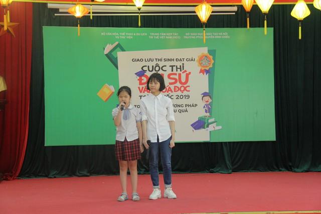 Giao lưu các thí sinh đạt giải Cuộc thi Đại sứ Văn hóa đọc năm 2019 - Ảnh 8.