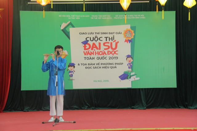 Giao lưu các thí sinh đạt giải Cuộc thi Đại sứ Văn hóa đọc năm 2019 - Ảnh 7.