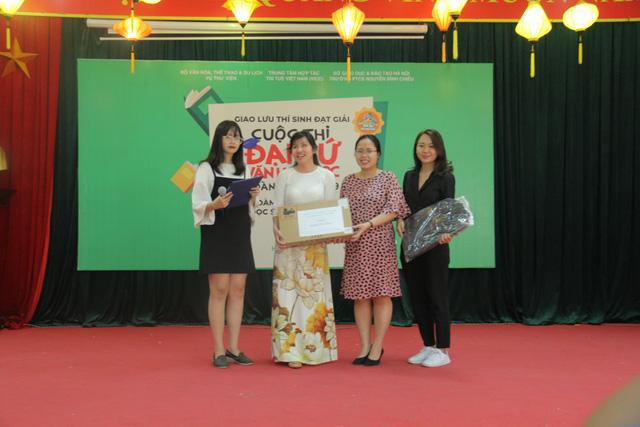 Giao lưu các thí sinh đạt giải Cuộc thi Đại sứ Văn hóa đọc năm 2019 - Ảnh 6.
