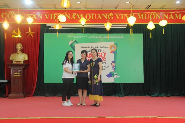 Giao lưu các thí sinh đạt giải Cuộc thi Đại sứ Văn hóa đọc năm 2019 - Ảnh 4.