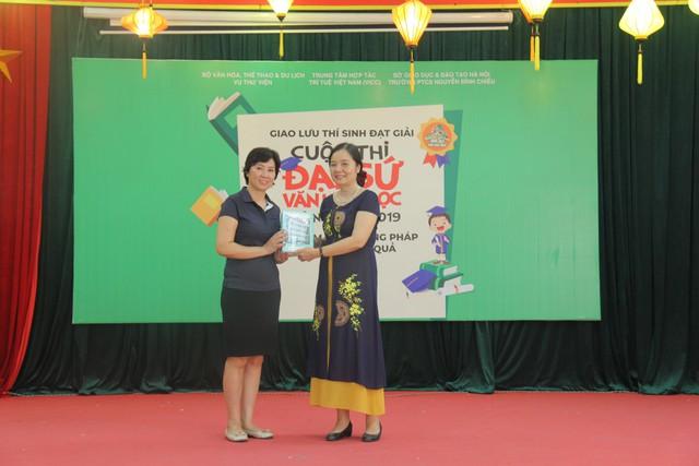 Giao lưu các thí sinh đạt giải Cuộc thi Đại sứ Văn hóa đọc năm 2019 - Ảnh 5.