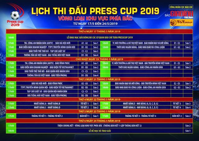 Khai mạc Press Cup 2019: Sự chuyên nghiệp và lan tỏa mạnh mẽ - Ảnh 3.