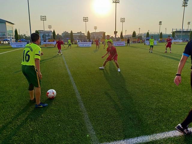 Trung tâm PTTH Quân đội có chiến thắng đầu tay trong lần đầu tham dự Press Cup - Ảnh 1.