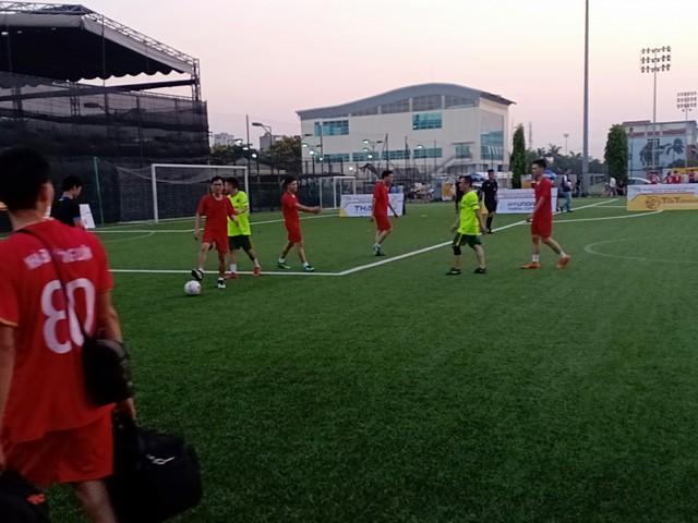 Trung tâm PTTH Quân đội có chiến thắng đầu tay trong lần đầu tham dự Press Cup - Ảnh 2.