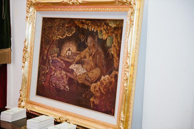 Dâng Bác những bức tranh quý tại triển lãm Bác để tình thương cho chúng con - Ảnh 3.