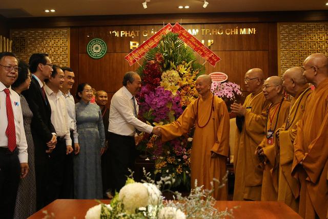 Giáo hội Phật giáo Việt Nam ngày nay đã làm được nhiều việc lợi đạo, ích đời, thực hiện cứu khổ độ sinh - Ảnh 1.