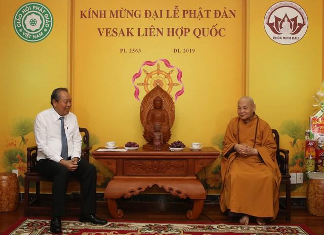 Giáo hội Phật giáo Việt Nam ngày nay đã làm được nhiều việc lợi đạo, ích đời, thực hiện cứu khổ độ sinh - Ảnh 2.