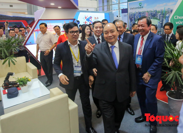 Thủ tướng Nguyễn Xuân Phúc khai mạc Diễn đàn Kinh tế tư nhân 2019 - Ảnh 10.