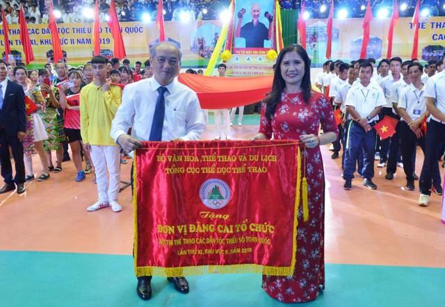 Hơn 800 vận động viên tham gia Hội thi Thể thao các dân tộc thiểu số toàn quốc lần thứ XI - Ảnh 3.