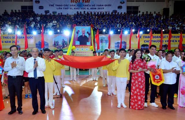 Hơn 800 vận động viên tham gia Hội thi Thể thao các dân tộc thiểu số toàn quốc lần thứ XI - Ảnh 1.