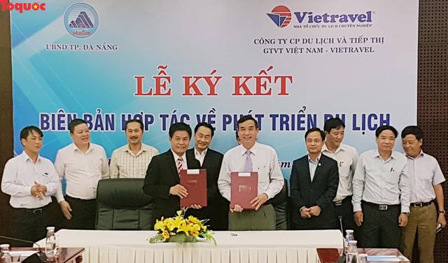 Đà Nẵng và Vietravel hợp tác phát triển du lịch  - Ảnh 1.