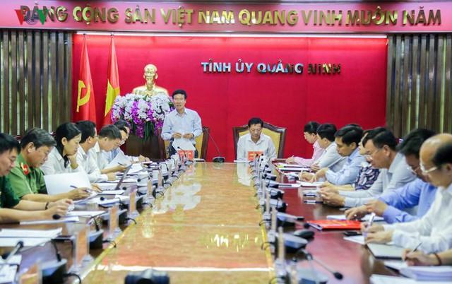 Bộ Chính trị thông báo kiểm tra 10 tổ chức Đảng tại tỉnh Quảng Ninh - Ảnh 1.