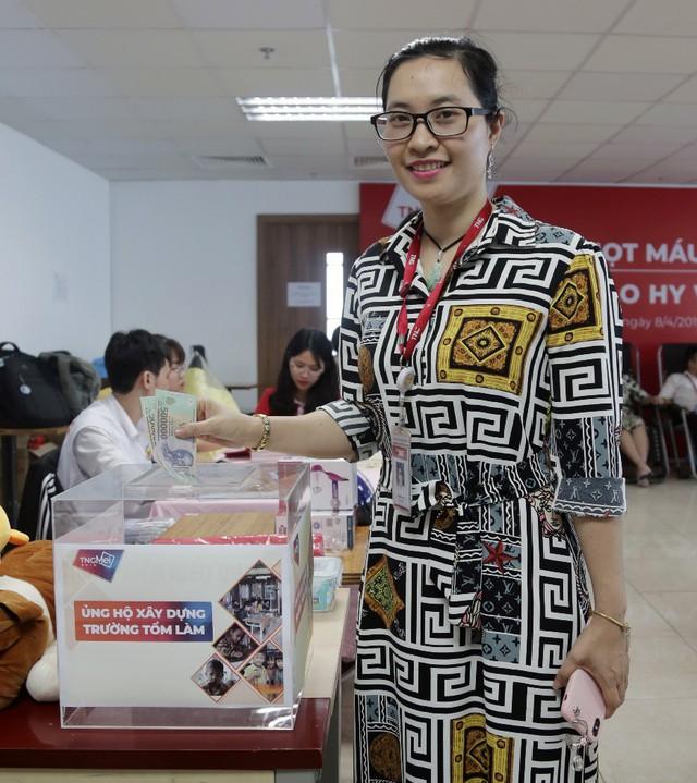 Cán bộ nhân viên Tập đoàn TNG Holdings Vietnam gây quỹ xây trường học cho trẻ em vùng cao - Ảnh 3.