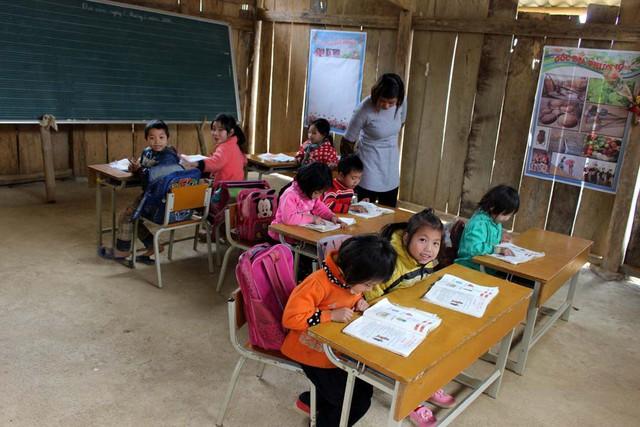 Cán bộ nhân viên Tập đoàn TNG Holdings Vietnam gây quỹ xây trường học cho trẻ em vùng cao - Ảnh 4.