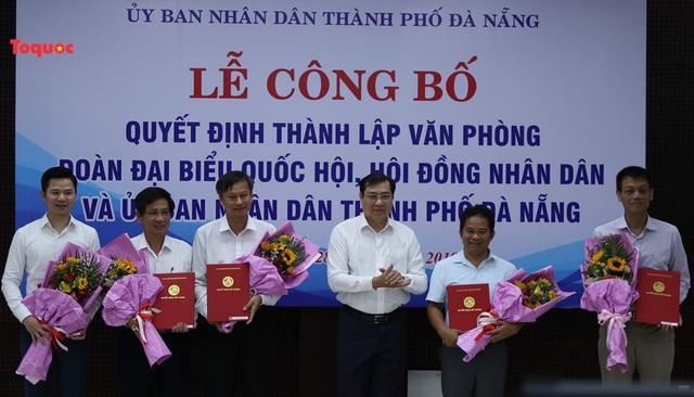 Đà Nẵng hợp nhất 3 Văn phòng, bổ nhiệm nhiều vị trí mới - Ảnh 1.