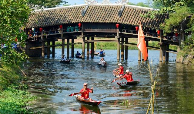 Thừa Thiên Huế công nhận điểm du lịch Cầu Ngói Thanh Toàn - Ảnh 1.