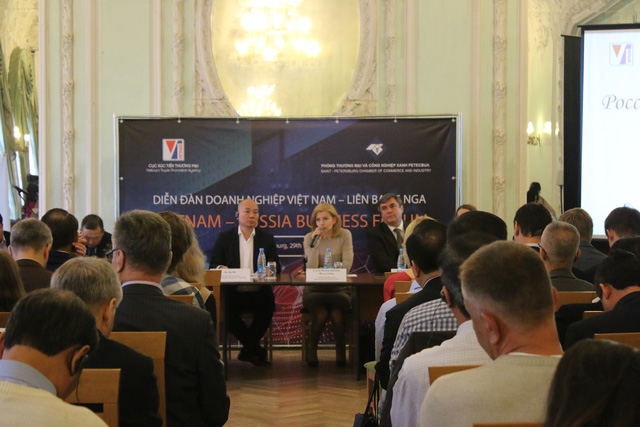 Diễn đàn Doanh nghiệp Việt - Nga tại Saint Petersburg: Cơ hội hợp tác rộng mở giữa hai nước - Ảnh 1.