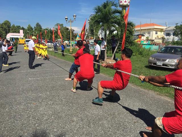 Sôi nổi giao lưu thể thao Đồng Tháp và Prayveng – Campuchia - Ảnh 4.